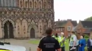 'Suspicious Incident' Forces Evacuation of Lichfield Cathedral - Video