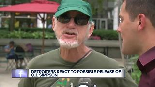 Detroiters on Simpson parole - Video