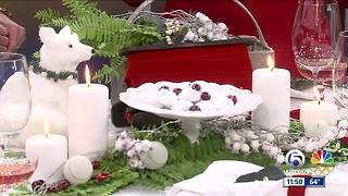 Holiday table decorations on a budget - Video