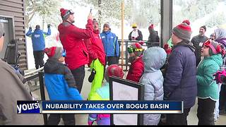 NubAbility takes over Bogus Basin - Video