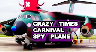 Crazy Times Carnival Spy Plane Above Maricopa County Coliseum | Trump Subpoena Again
