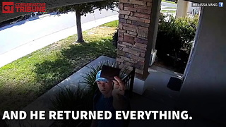 Young Man Returns Wallet - Video