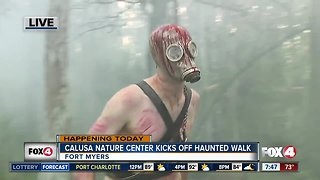 Calusa Nature Center's Haunted Walk raises money for animal care