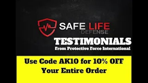 Safe Life Defense Body Armor, Testimonials from Protective Force International