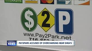 Private parking Pay2Park accused of overcharging - Video