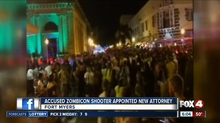 Man charged in 2015 ZombieCon shooting getting new lawyer