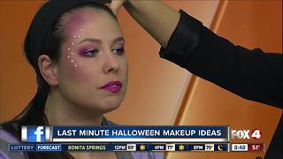 Last minute Halloween mermaid make-up tips - Video