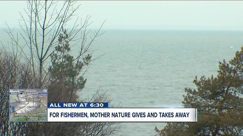 For Lake Erie fishermen, Mother Nature gives and takes away