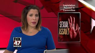 Sexual assault bills passed by state senate - Video