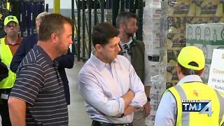 House Speaker Paul Ryan talks healthcare, tax code while touring MillerCoors - Video