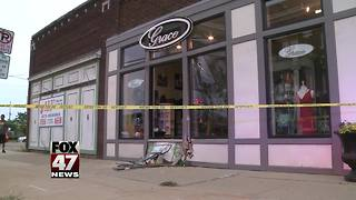 U-Haul trailer crashes into Old Town building - Video