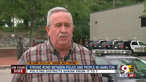 Strong bond between police and people in Hamilton