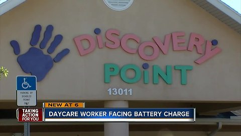Daycare worker fired, charged with 3 counts of battery for pushing 3 toddlers to the ground