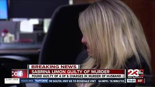 Sabrina Limon found guilty on 4 out of 6 charges - Video