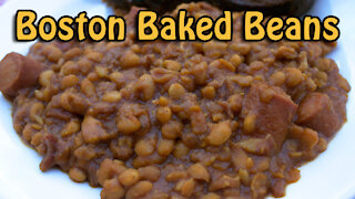 Dutch Oven Boston Baked Beans
