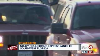 Express lane study almost underway - Video