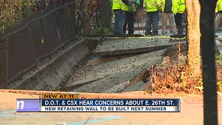 What's being done about 26th street collapse