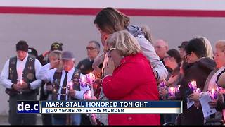 Remembrance ceremony held for BPD Officer Mark Stall - Video