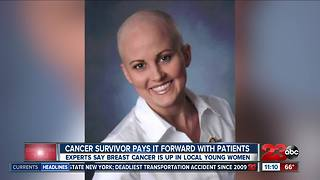Breast cancer survivor pays it forward with patients
