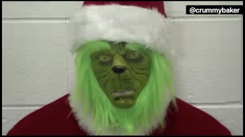 The Grinch has been arrested