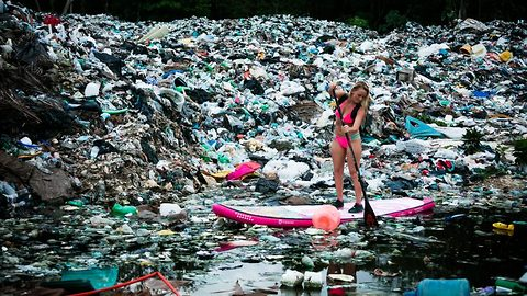 Explorer travels the world for more than a decade to raise awareness of plastic pollution