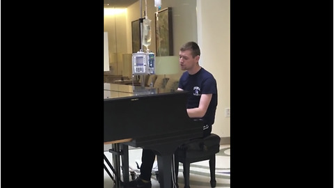 Young Man With Rare Disease Sings For Cancer Patients