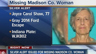 Silver Alert for missing woman from Anderson