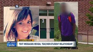 Police reports reveal details in alleged teacher-student sexual relationship that lasted 3 years - Video
