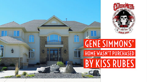 CMS | Gene Simmons' Home Wasn't Purchased By Kiss Rubes