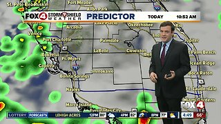 Forecast: Fewer showers and storms, but still morning and afternoon rain for your Tuesday