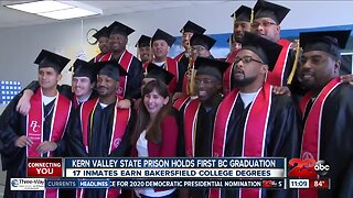 Inmates earn Bakersfield College degrees from behind bars