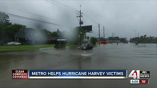 KC metro sending help to Harvey victims - Video