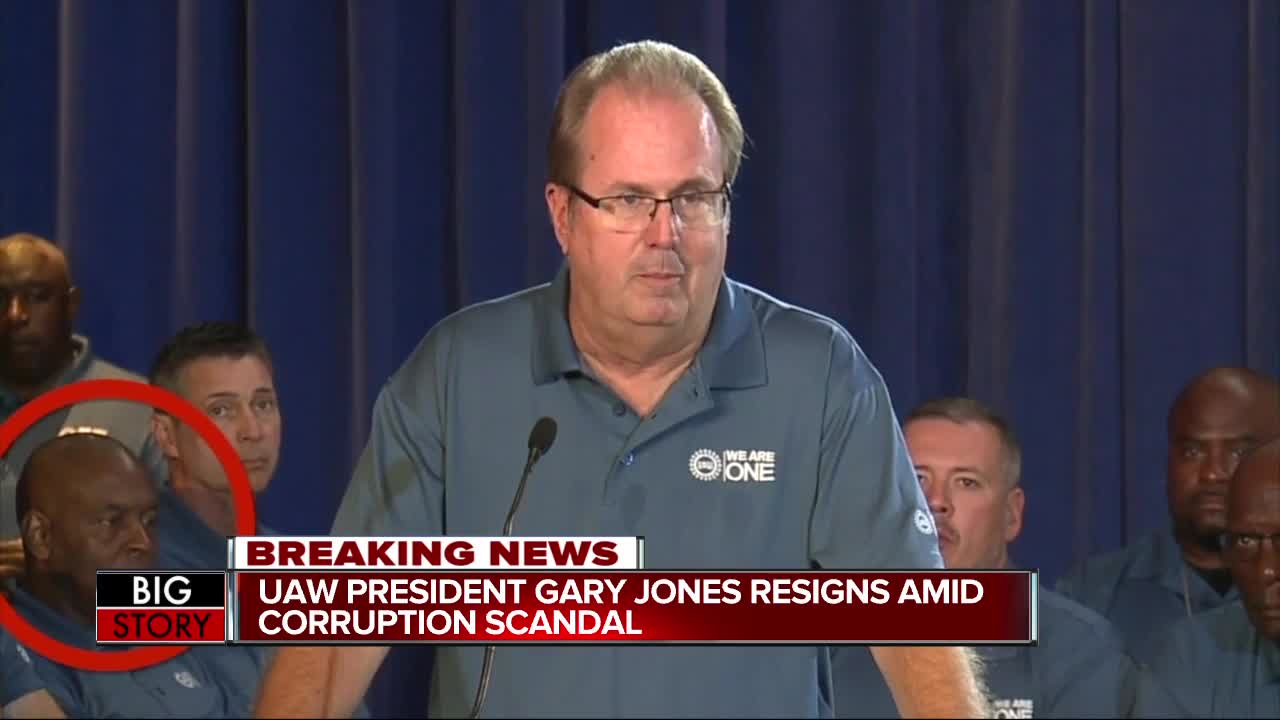 UAW President Gary Jones resigns from union as Executive Board moves to remove, expel him, Regional Director Vance Pearson