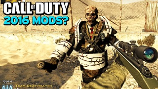 Are MODS coming to Call of Duty in 2016? - Video