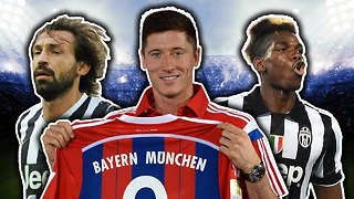 Best Ever Free Transfers XI | Lewandowski, Pogba, Pirlo! - Video