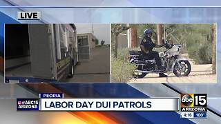 DUI patrols being held across Valley this weekend - Video