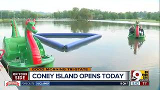Take your own dragon out on the water at Coney Island - Video
