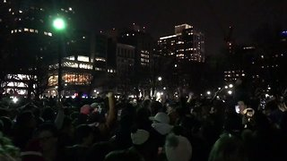 Patriots Fans Converge on Boston Common to Celebrate Super Bowl Win - Video