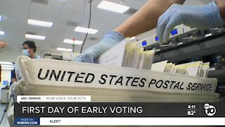 Election 2020: Early voting begins in San Diego County