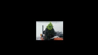 How 'The Grinch' Plows Snow in North Carolina - Video