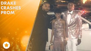 Drake chaperones his cousin to prom - Video