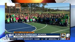 Good morning from Dublin Elementary School - Video