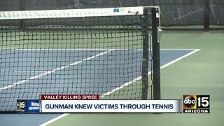 Valley murder suspect knew victim through tennis