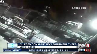 Alleged theft at Lehigh Acres construction business - Video
