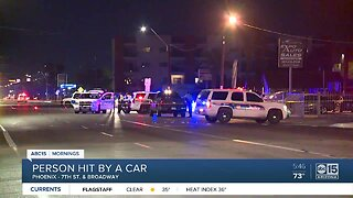 Hit-and-run crash leaves man injured in Phoenix