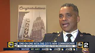One-on-one with Baltimore Police Commissioner Darryl De Sousa - Video