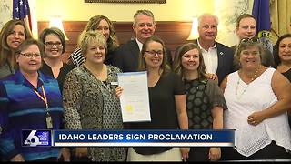 Proclamation issued for Suicide Prevention Week - Video