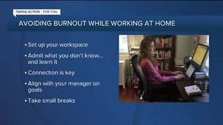 Avoiding Burnout While Working at Home