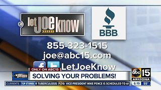 Let Joe Know solves your consumer problems
