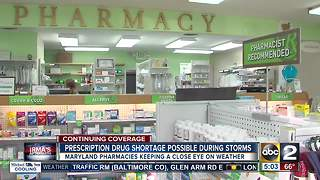 How hurricanes can affect your prescription medicine - Video